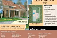 Rumah di Kota Bogor Kawasan Cifor