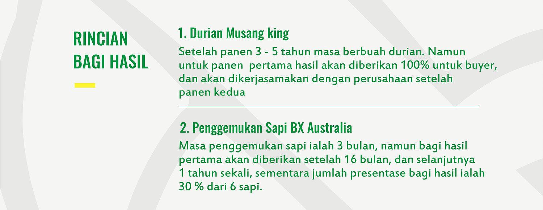 BENEFIT dari Desa Durian