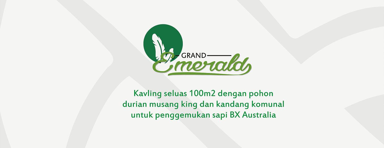 Kavling Grand Emerald di Desa Durian