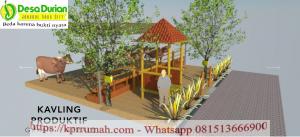 Keuntungan Investasi Property di Desa Durian dari Pengelolaan Sapi