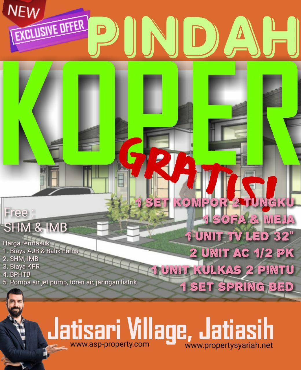 Cluster Jatisari Village Rumah di Jatiasih Kota Bekasi