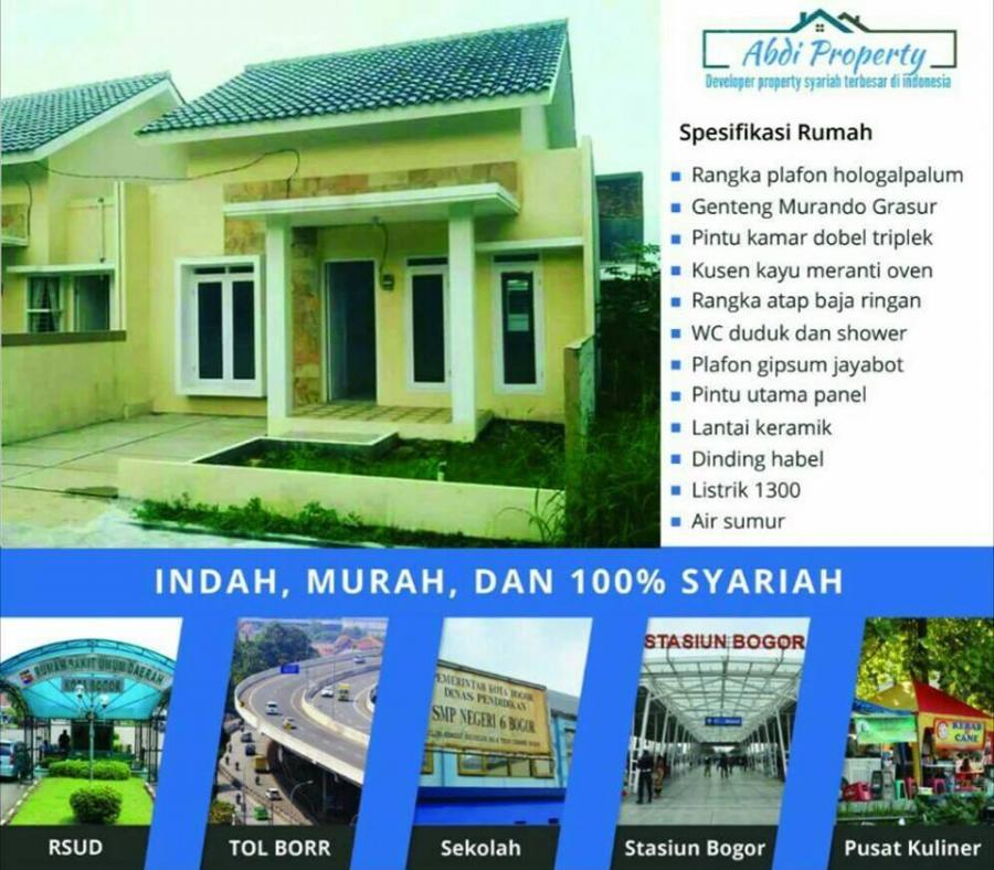 Perumahan Syariah Abdi Residence Pallm Hills Bogor