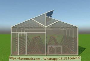 d'GreenHouse Kebun Hidroponik Bogor Dengan 4000 Lubang Tanam