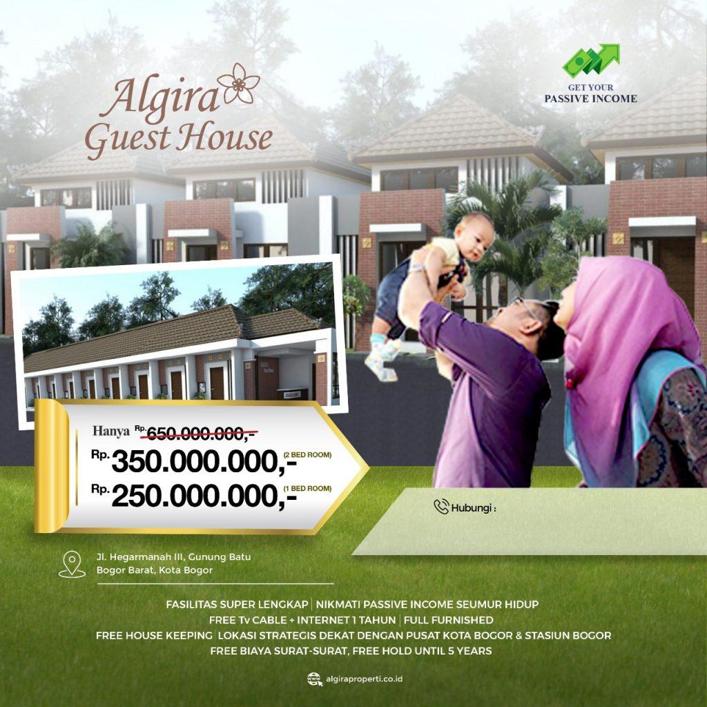 Algira Guesthouse Gunung Batu Rumah di Kota Bogor