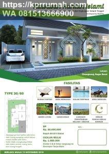 Rumah Idaman di Kawasan Hunian Islami Bogor dengan fasilitas Lengkap