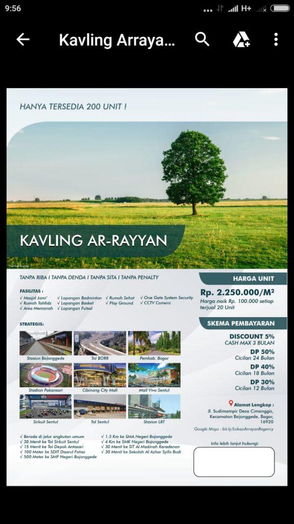 Ar Rayyan Regency Bojonggede