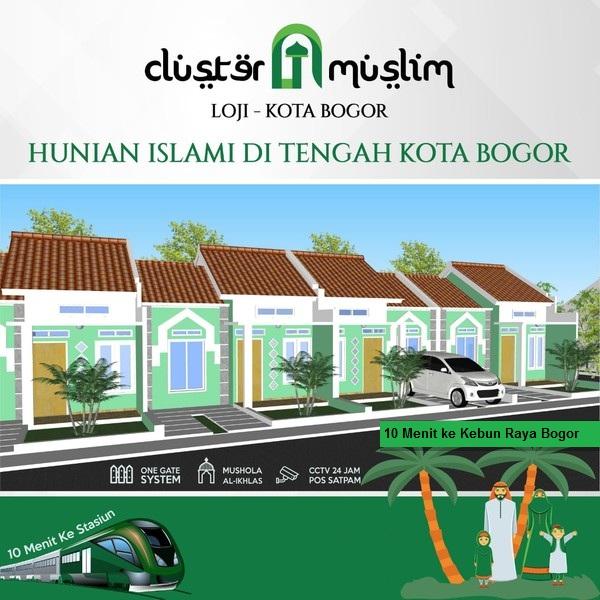 Cluster Muslim Loji Rumah di Bogor Kota