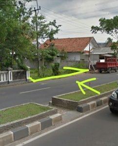 Jual Tanah di Kota Serang Jl.Raya Serang-Pandeglang Sertifikat SHM