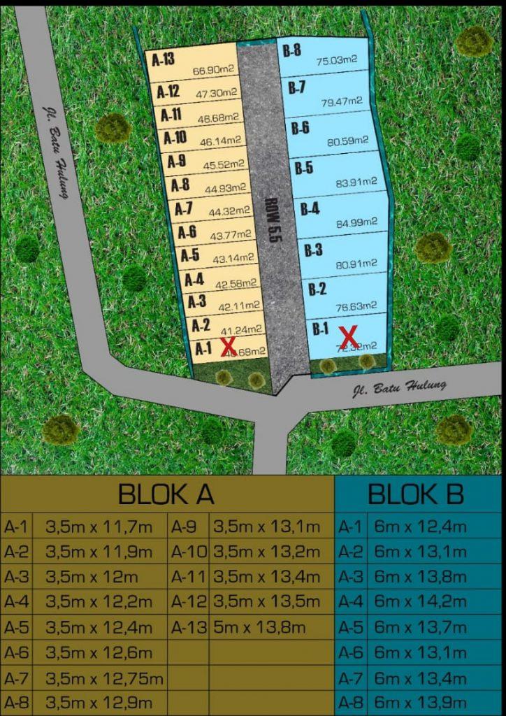 Tanah Kaling Siap Bangun di Kota Bogor di Cluster Tsurayya Bogor Kota