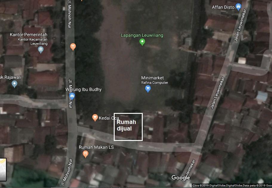 Rumah dijual di Leuwiliang Bogor