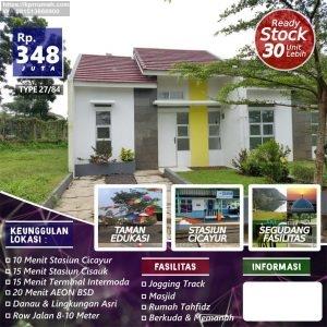 Rumah Dekat Stasiun Cisauk