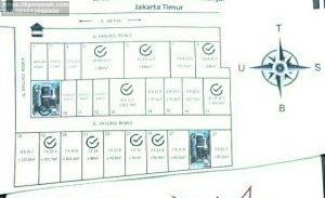 Tanah dijual Jakarta Cipayung dalam Cluster Siap Bangun
