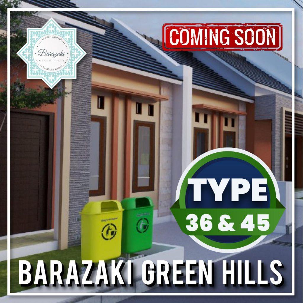 Perumahan syariah Barazaki Green Hill