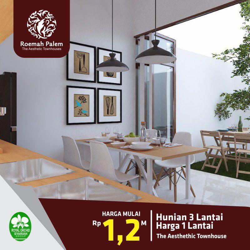 Rumah 3 Lantai Roemah Palem Jakarta Timur