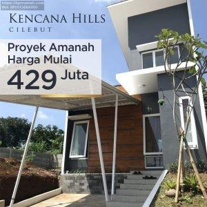 Perumahan Syariah Kota Bogor Kencana Hills Cilebut