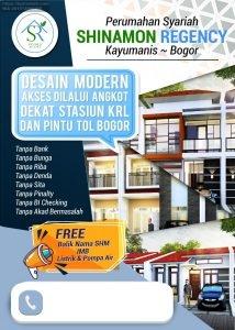 Kpr Rumah di Kota Bogor Akses Dekat TOL dan Stasiun