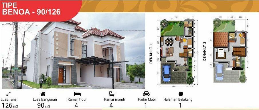Rumah Type 90