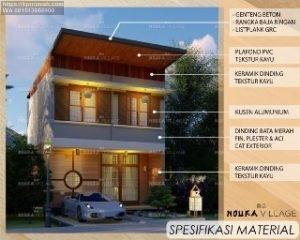Nouka Residence Rumah Gaya Jepang di Cisarua Cimahi