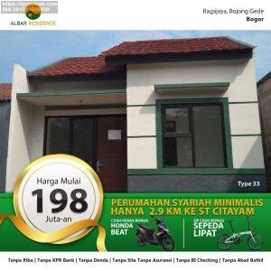 Albar Residence Citayam Rumah Murah Dekat Stasiun