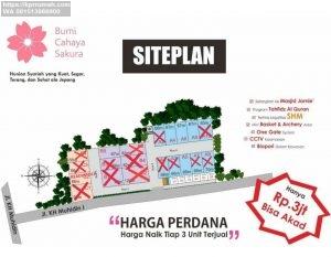 Bumi Cahaya Sakura Rumah 2 Lantai Murah di Kota Bogor