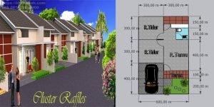 KPR Rumah di Pasar Kemis Tangerang Cluster Rafles
