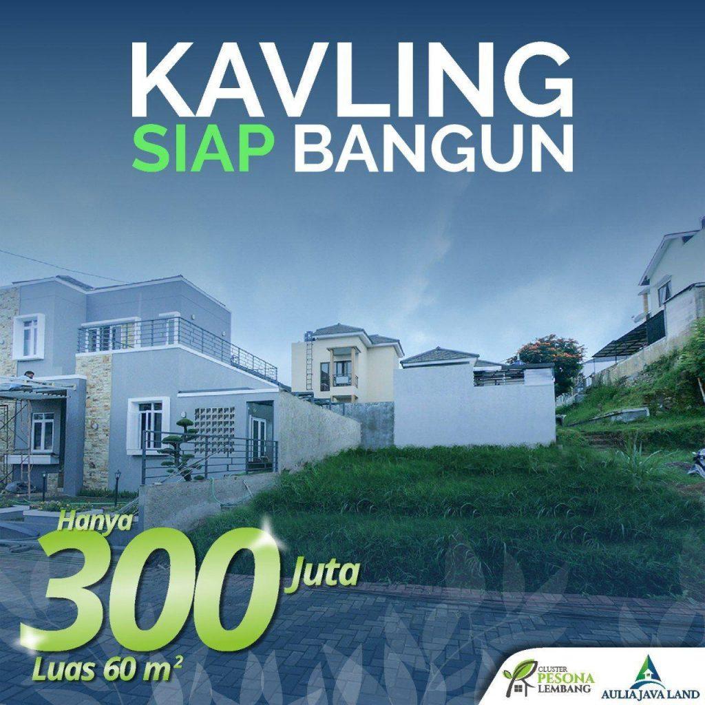 Kavling Tanah dijual Lembang Bandung