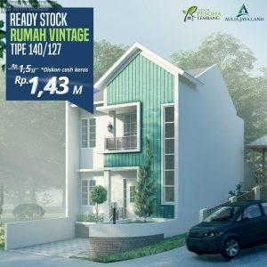 Rumah Villa Pesona Lembang untuk Hunian dan Peristirahatan