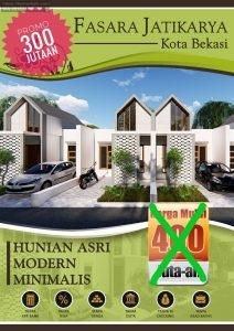 KPR Rumah Jatikarya Bekasi Cluster Fasara Jatikarya