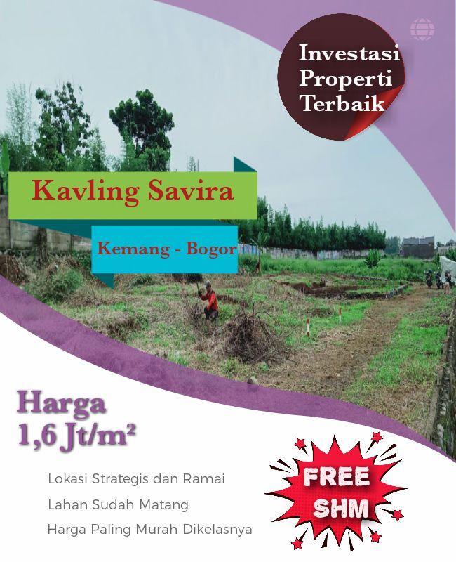 Jual Tanah Kavling Kota Bogor