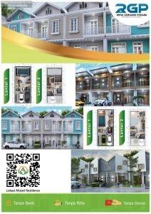 Rumah Ahzavi Pondok Gede Desain Scadinavia Eropa