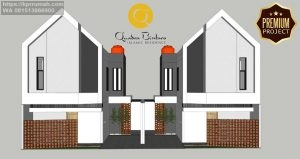 Luxury Townhouses in Bintaro Quadra Bintaro Residence