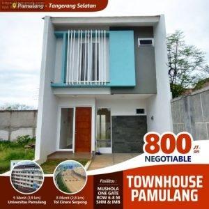Rumah di Pamulang Tangerang Selatan Pilihan Terbaik Hunian Idaman