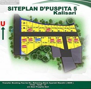 Rumah Murah Jakarta D'Puspita 5 Residence Kalisari