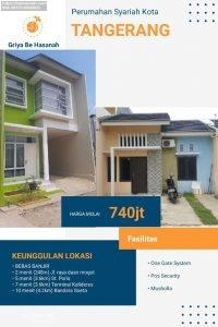 Townhouse Batuceper Rumah 2 lantai di Pusat Kota Tangerang