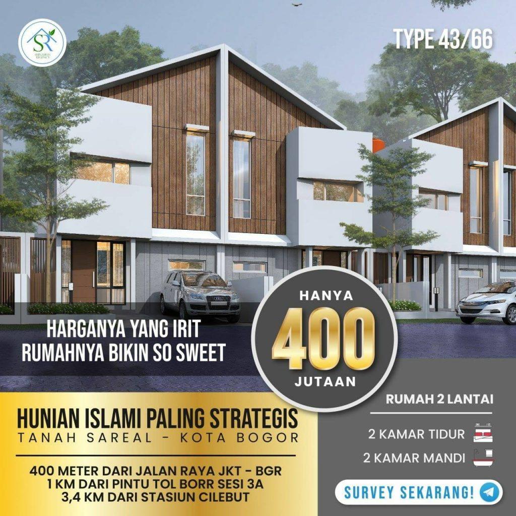 Perumahan 2 lantai Kota Bogor