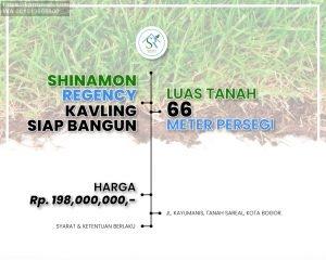 Shinamon Regency Perumahan Bogor Dekat Tol dan Stasiun