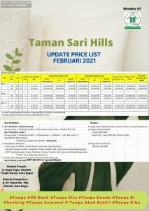 Rumah Mewah Bogor di Cluster Taman Sari Hills Marcopolo Bogor