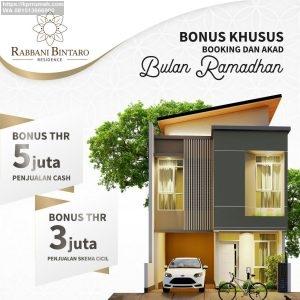 Rabbani Bintaro Residence di Perumahan Bintaro Sektor 9