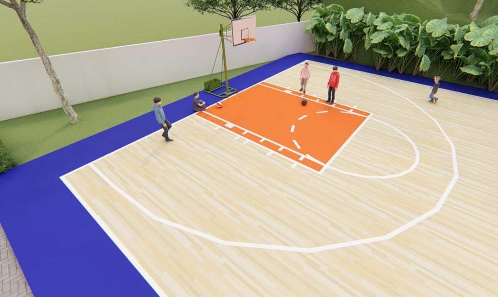 Jual rumah di Samarinda Area olahraga