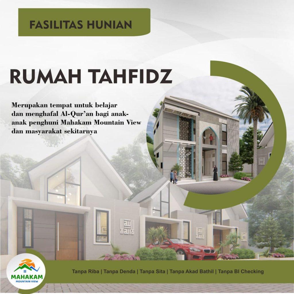 Perumahan Islami Mahakam Mountain View rumah Tahfidz